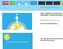 MyCigna animated video scripts