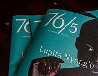 76/5 Magazine | Editorial Design