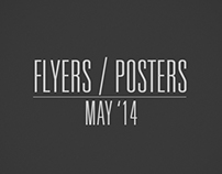 Flyers / Posters - May '14