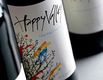 Happy Valley WIne Label
