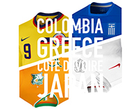 World Cup. Group C. Concepts