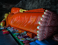 A Buddhism images series of south Sri Lanka