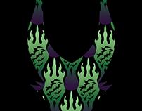SCORCH pattern ~ Maleficent