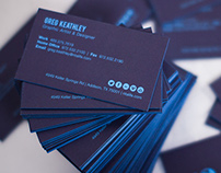 Business Cards & Media Kit