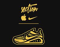 Section Clothing: Golden Boy ft Nike & Apple