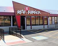 Rev Burger   Branding