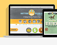Better Florida Foundation | Web Branding, UI