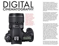 Digital Cinematography - Print Concept