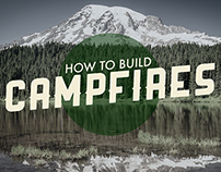 How to build campfires