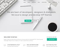 Retigo Creatve Multipurpose Wordpress Theme