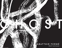 GHOST / cultural design poster