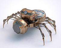 Steam Spider