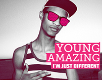 Young Amazing - Album Art