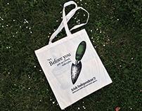 Bloom Garden Festival bag designs.