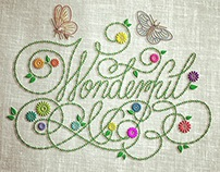 Wonderful (Embroidered)