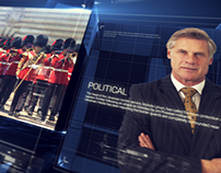 After Effects Template : TV Broadcast News Packages