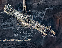 AERIAL VIEWS COAL MINING