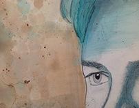 Painting Time Lapse: Nico Rosberg Portrait
