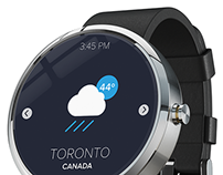 Android Wear Visual Concept