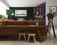 3D - Santa Fe, Interior Design