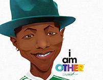 Pharrell Williams Portrait