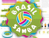 Brasil Samba Infographic