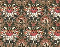 Wallpaper pattern design 23 Edouard Artus ©2014