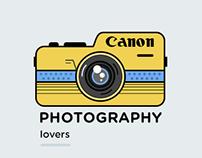 Canon Camera psd download