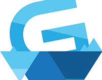 Glacier Gaming Branding