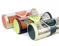 Sushi Tube Packaging
