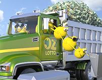 Oz Lotto Television Commercials