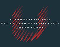 Stenograffia-2014 feetival-identity