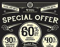 WDSG Promotion Design
