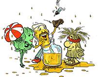 Illustration: Gary, Walt & Eunice