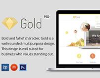 PSD Template - GOLD