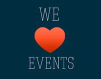 WE ♥ EVENTS