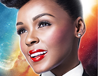 Janelle Monae - Digital Painting