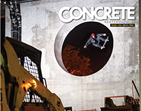 Concrete Skateboarding Magazine #128 / 2013