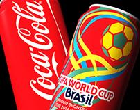 Coca-Cola Brasil World Cup Concept Designs