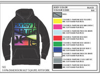 Hurley Winter 2012 Men's Dimension Hoodie