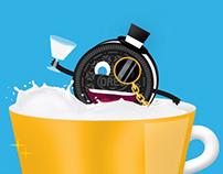 Oreo & Chips Ahoy Illustrations