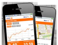 ING Mobile website