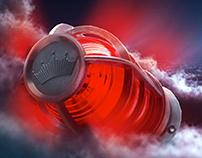 The Budweiser Red Zeppelin