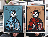 Samsara Blues Experiment Silkscreen Poster