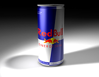 Motion Graphics - Red Bull