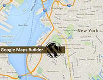 "Displaying Info Window always in ""Google Maps Builder"""