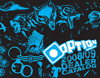 Option Snowboards 0809 Catalog