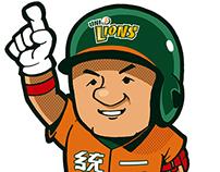 CPBL Player illustrator/中華職棒球員插畫