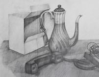 Pencil & Charcoal 2009