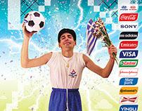 Superheroes go FIFA